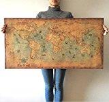 世界地図インテリア